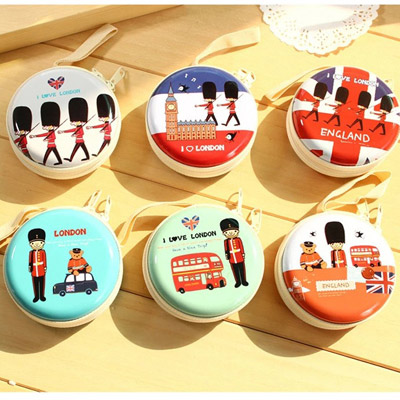 Awesome Color Will Be Random Soldier Pattern Round Shape Design (1pcs)