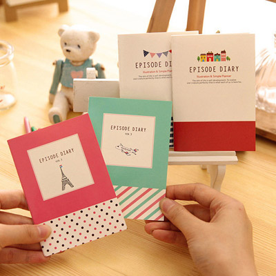 Moving Color Will Be Random Cartoon Pattern Simple Design (1pcs)