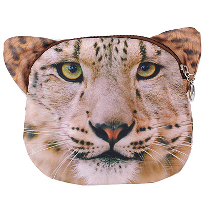 Teen Leopard Color Lion Pattern Simple Design