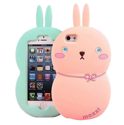 Graduation Multicolor Rabbit Shape Simple Design (iphone 6)