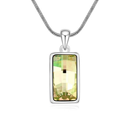 Wrap Luminous Green Implied Meaning Goddess Of The Moon Design Austrian Crystal Crystal Necklaces