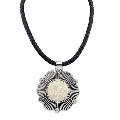 Moving Beige Exaggerated Ethnic Pendant Alloy Pendants