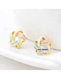 Letterhead Multicolour Twine Charm Design