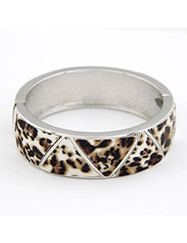 Shade Leopard Simple Bangle Alloy Fashion Bangles