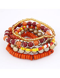 Blank Multicolour Handmade Bead Korean Fashion Bracelet