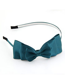 Local Green Bow Charm Alloy Hair band hair hoop