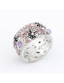 Parker Silver Color Daisy Alloy Korean Rings