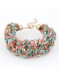 Pregnancy Multicolour Weave Design