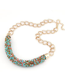 Cranes Multicolour Handmade Bead Design Alloy Chains