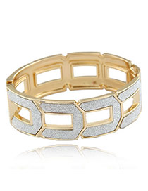 Chunky Champagne Champagne Simple Alloy Fashion Bangles