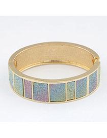 Creative Gold Color Elegant Exquisite Design Alloy Fashion Bangles