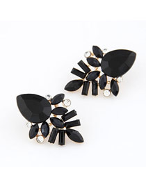 Display Black Elegant Shining Jewel Design