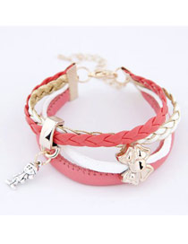 Scrabble Pink Butterfly Multilayer