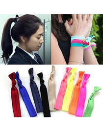 Inspiratio Color Will Be Random Candy  Color Design Rubber Band Hair band hair hoop
