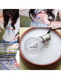Collapsibl transparent color Small Light Bulb  Pendants