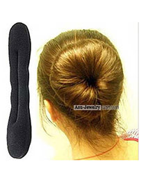 Sample Black Large Meatball First Buds Sponge Hair band hair hoop