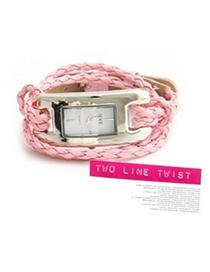 Circle Pink Roman Dial