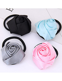 Fashion Multi-color Flower Shape Decorated Hair Band (1 Pc)(send Randomly )