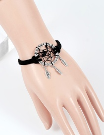 Bohemia Black Aeolian Bells Decorated Bracelet