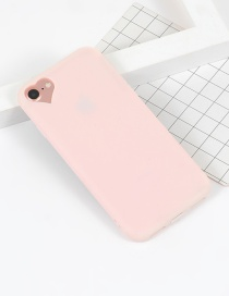 Fashion Pink Heart Shape Decorated Simple Iphone7 Case