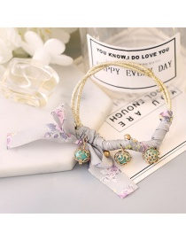 Lovely Gray Round Balls Decorated Simple Hair Band