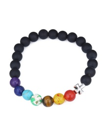 Fashion Multi-color Cross Shape Decorated Bracelet