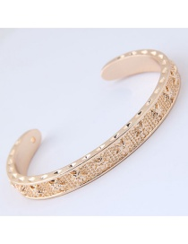 Fashion Gold Color Star Pattern Decorated Bracelet