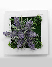 Fashion Purple Lavender Decorated Wall Hanging