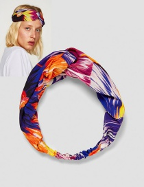 Fashion Multi-color Flower Shape Decorated Hair Band