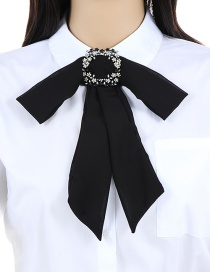 Fashion Black Flower Shape Decorated Choker