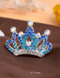 Lovely Blue Color-matching Decorated Hairpin