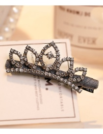 Fashion Gray Flower Shape Decorated Hair Clip