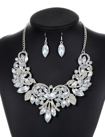 Fashion Silver Color Pure Color Decorated Jewelry Sets