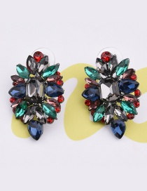 Elegant Multi-color Pure Color Decorated Earrings