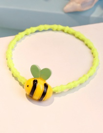 Lovely Yellow Bee Shape Decorated Hair Band