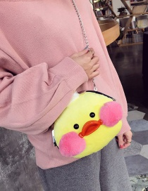 Lovely Yellow Duck Shape Decorated Bag