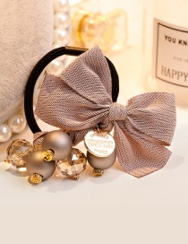 Elegant Pink Bowknot Shape Decorated Hair Band
