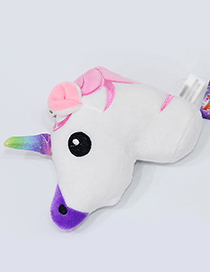 Lovely Pink Cartoon Unicorn Design Simple Ornaments