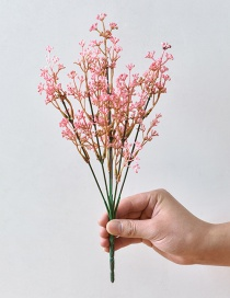 Fashion Pink Flowers Decorated Simple Ornament