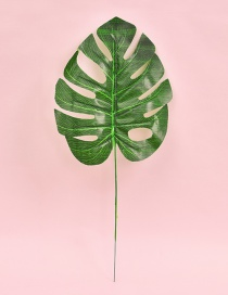Fashion Green Leaf Shape Decorated Hollow Out Ornament(small)
