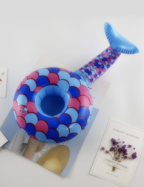 Fashion Blue Fish Shape Decorated Cup Holder
