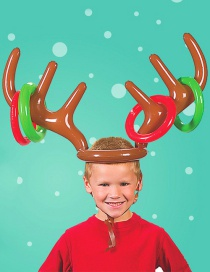 Trendy Multi-color Elk Shape Design Simple Props