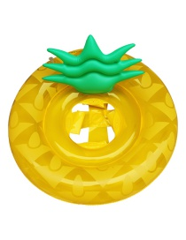 Trendy Yellow Pineapple Shape Design Baby Swimming Ring