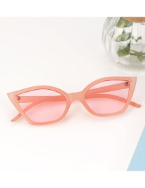 Fashion Pink Square Shape Design Glasses