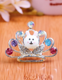 Lovely Multi-color Crown Shape Design Child Hair Hoop(small)