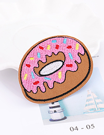 Fashion Multi-color Donut Shape Decorated Patch