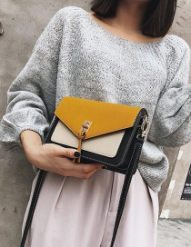 Fashion Yellow Tassel Decorated Bag