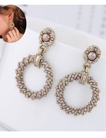 Fashion Silver Pearl Earrings