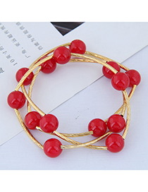 Fashion Red Dual-use Necklace Bracelet
