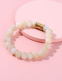 Fashion Champagne Bead Decorated Bracelet